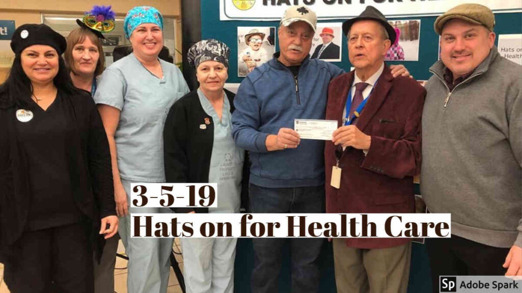 3-5-19 Hats on for Health Care
