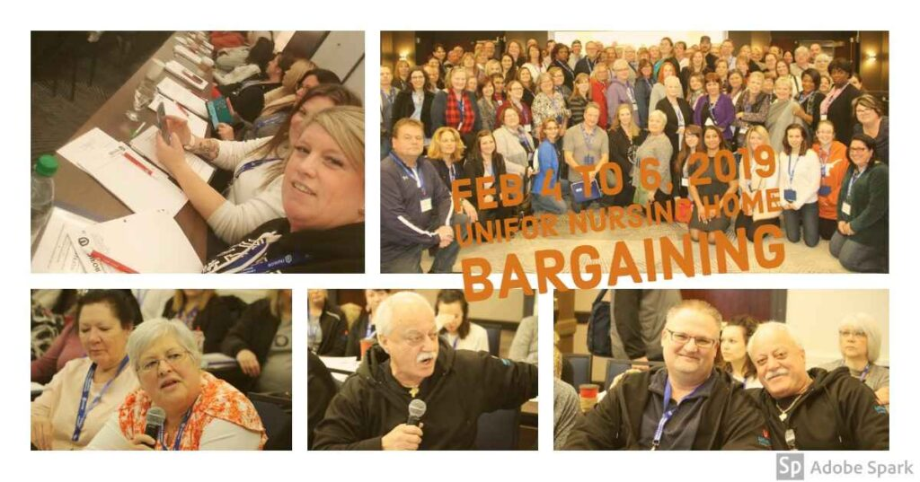 Unifor Nursing Home Bargaining