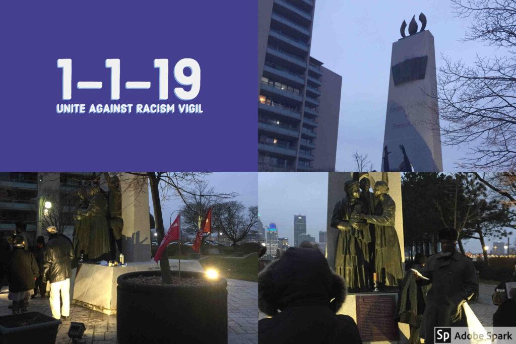 1-1-19 Unite Against Racism Vigil